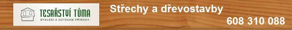 Tesařství Tůma - střechy a dřevostavby
