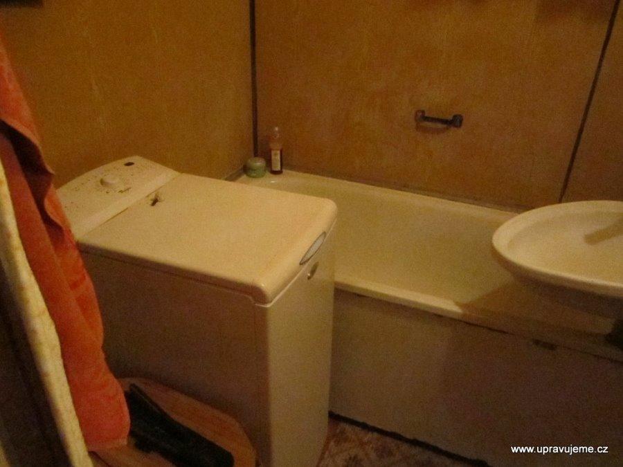Rekonstrukce koupelny v paneláku bez bourání